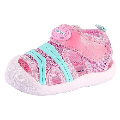 Amazon.com: Sandalias de verano para bebé, transpirables ...