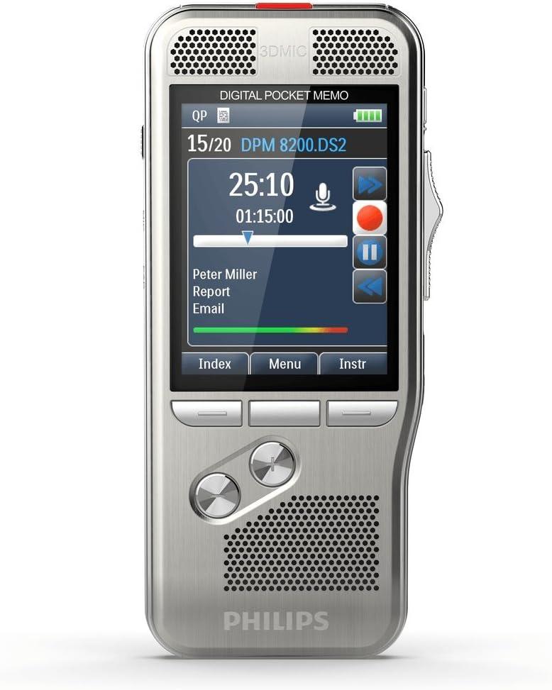 Philips Pocket Memo Diktiergerät Dpm8000 Ohne Software Bürobedarf Schreibwaren