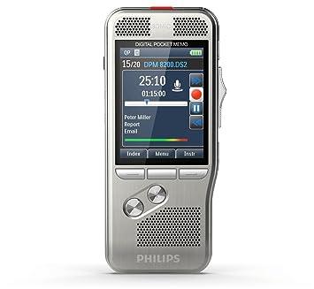 Philips Pocket Memo Diktiergerät DPM8000 ohne Software: Amazon.de ...