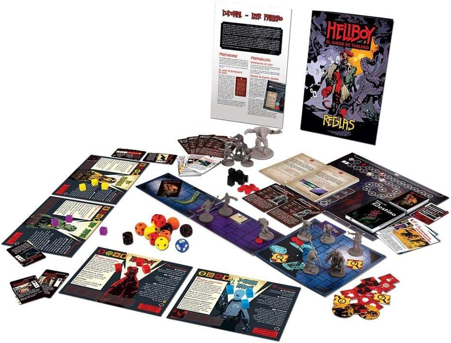 Edge Entertainment- Hellboy: el Juego de Tablero, Color (EEMTHB01 ...