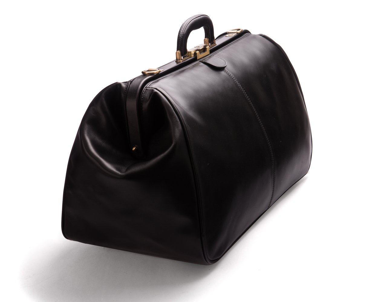 SAGEBROWN Black Large Gladstone Holdall