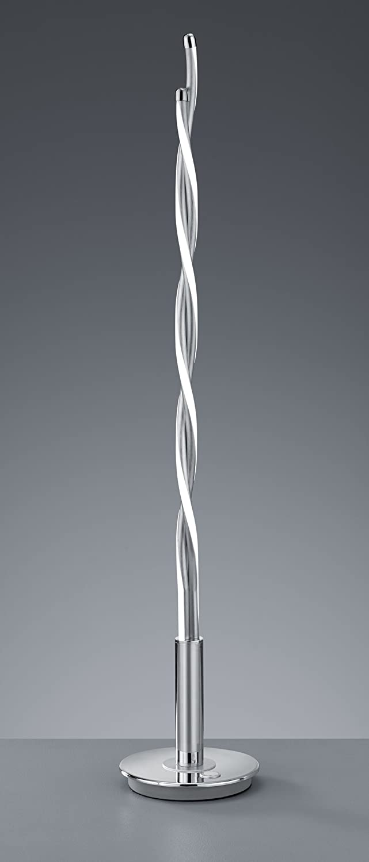 chrom Cromo 21x21x155/cm Trio Leuchten Trio 476310206 Lampada a Stelo 21x21x155 cm