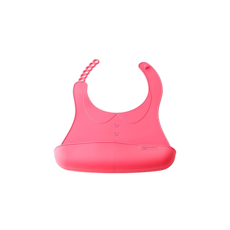 Sillymann (WSB - 253) BABY BIB (Pink)