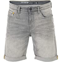 riverso RIVUdo Pantalones Vaqueros Cortos para Hombre, Corte Regular, 99% algodón, Bermudas, Gris, Azul Claro, Azul…