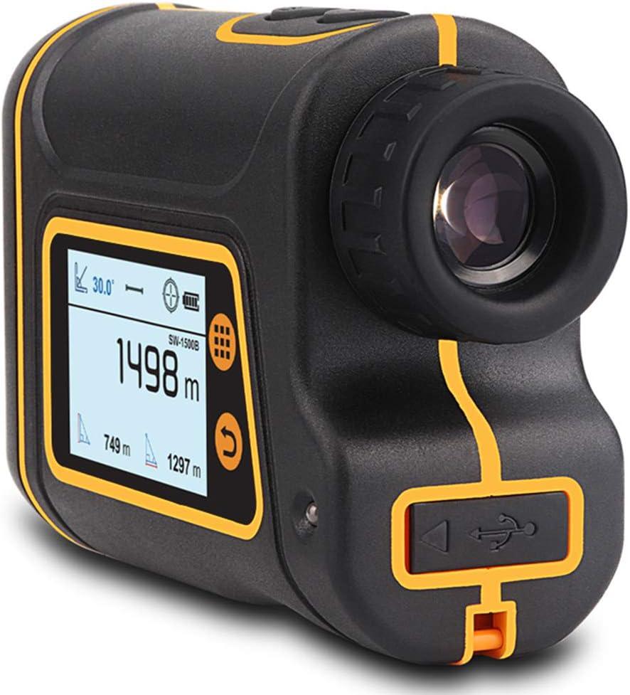 KOWE Telémetro De Golf, con Pantalla LCD Externa, para Tiro con Arco, Rugby, Tenis, Golf,1500M