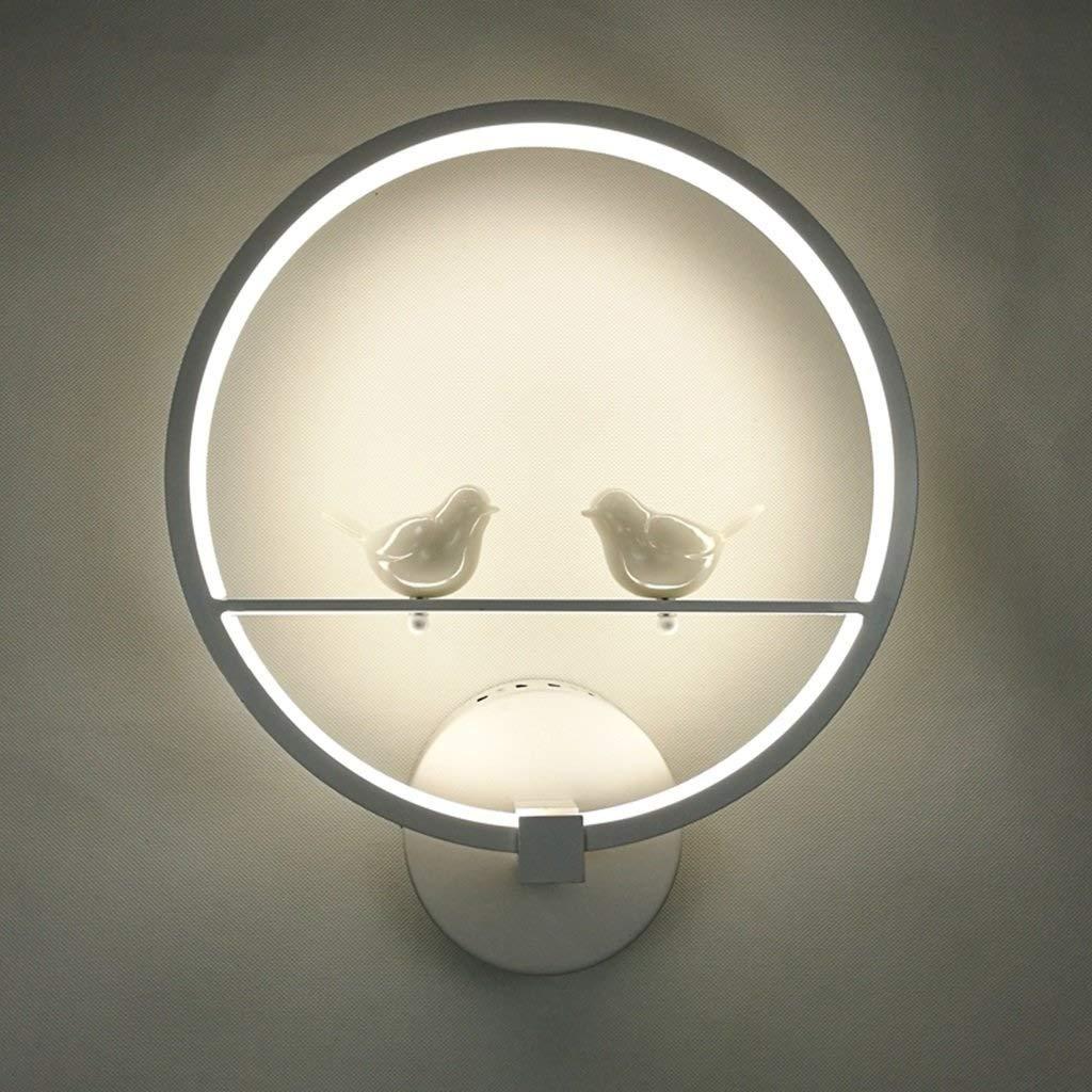 XSWZAQ クリエイティブledベッドサイドランプウォールランプモダンな通路階段背景壁寝室の人格リビングルームの装飾ランプ B07TN4DJ75