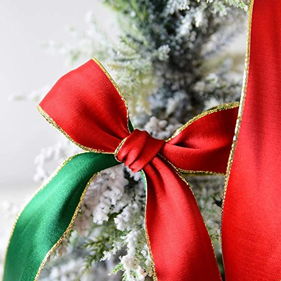 iStary Cinta De Raso Correa De Regalo De Decoración De Navidad De Colores Doble Cinta De Tela De Doble Cara Rollo De Raso Para Embalaje Decoración De Regalo ...