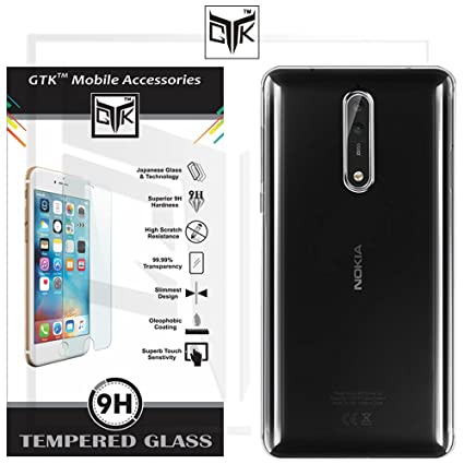detailing 9ffba d28a9 Nokia 8 Back Cover + Tempered Glass - TheGiftKart Ultra: Amazon.in ...