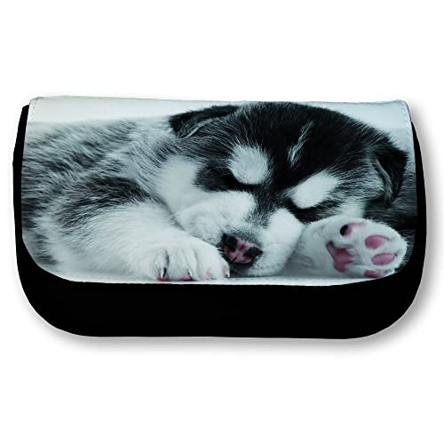 FS - Trousse noire Bébé Husky qui dort