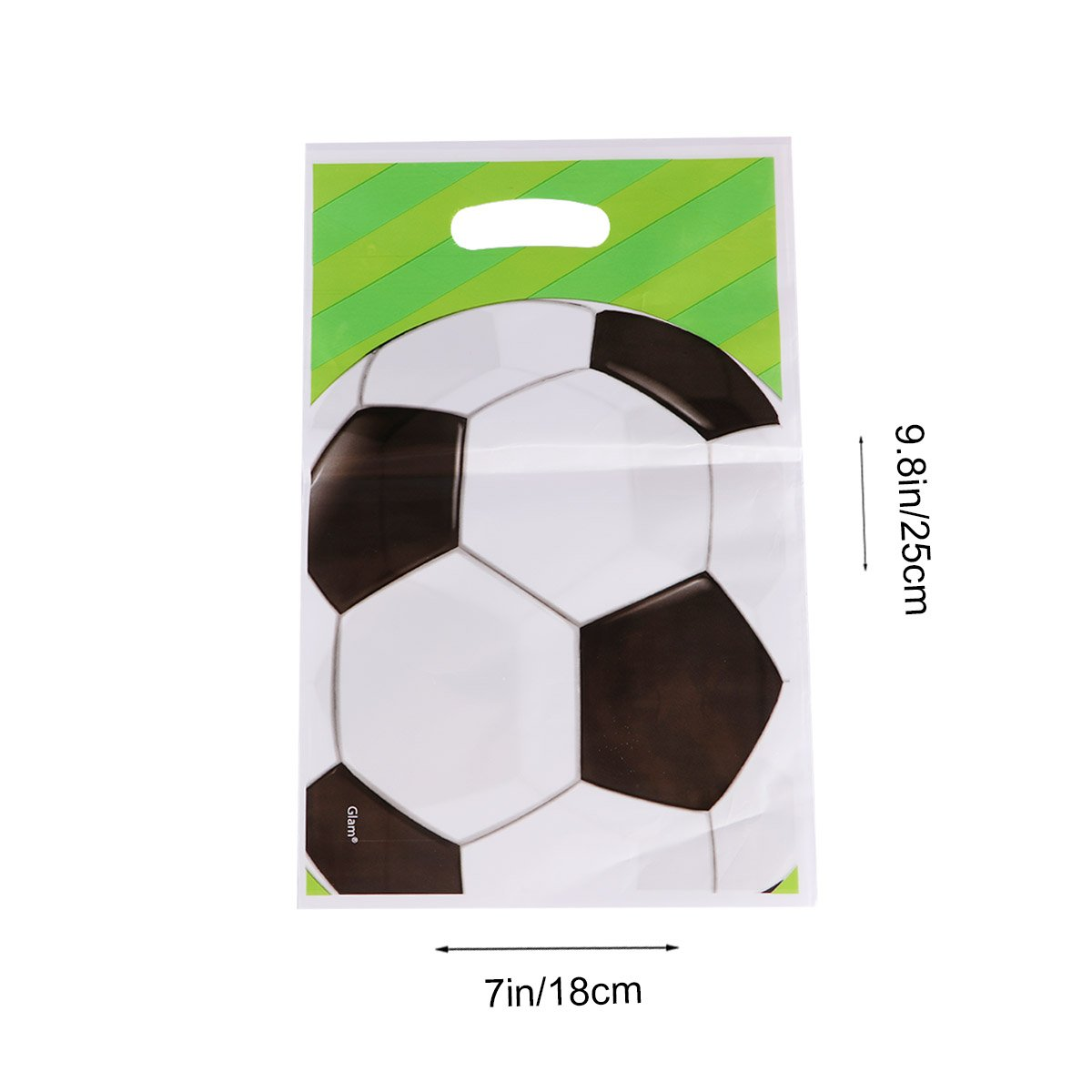 TOYMYTOY 20pcs Soccer Balls Party Favor Bags Candy Gift Bag Treat Bag Party Supplies for Birthday Kids Party