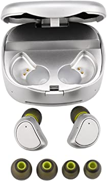 Amazon Com Earphones For Iphone 8 Plus Sammid Bluetooth Wireless Earphones With Charging Box Mini Twins Stereo For Iphone And Android Phones With Built In Mic Silver Home Improvement