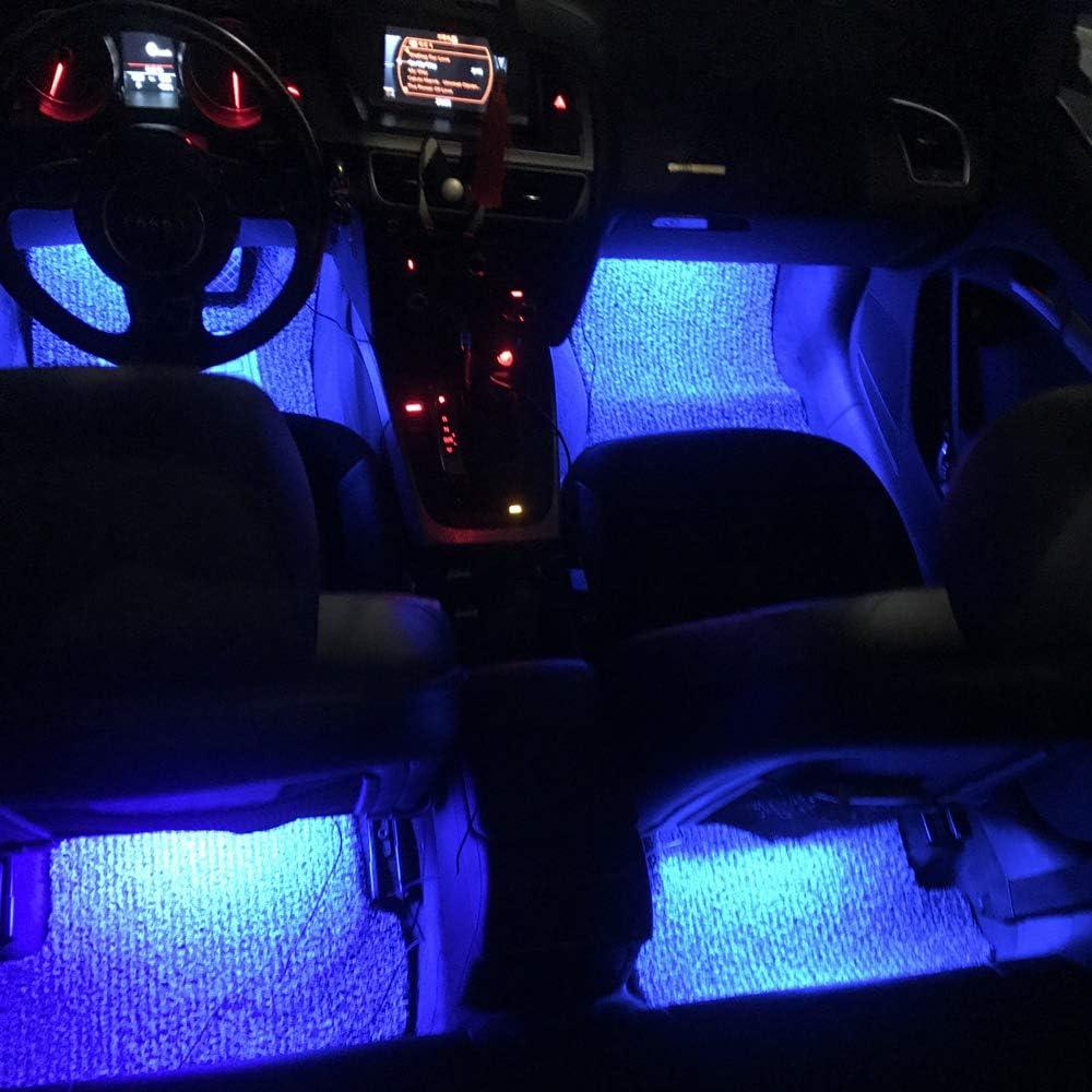 Allume Cigare, 72 LED Led Voiture,/Éclairage Int/érieur Atmosph/ère,avec Son Fonction Active Allume-Cigare Universal Fitment