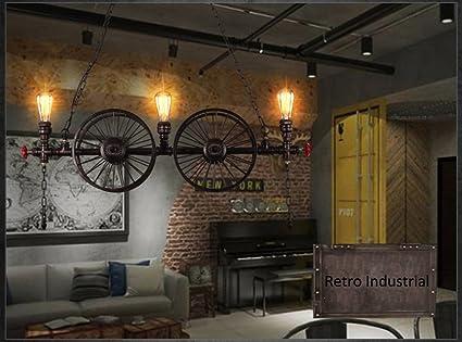 Lampada Vintage Industriale : Nostalgia retro industriale luce pendente soggiorno sala da pranzo