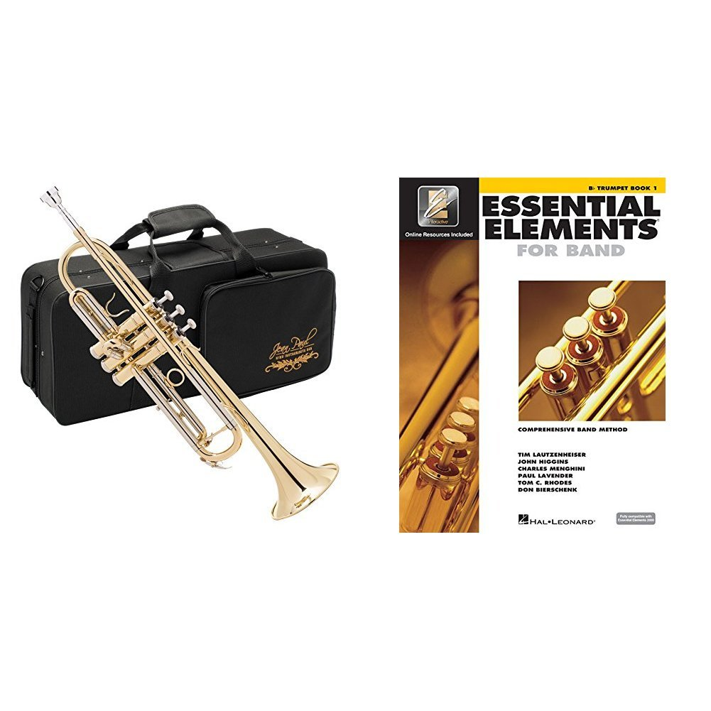 Jean Paul USA TR-330 Standard Student Trumpet with Book by Jean Paul USA (Image #1)