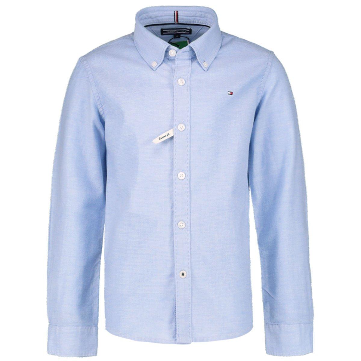 Tommy Hilfiger Jungen Hemd Comfort Fit Langarm
