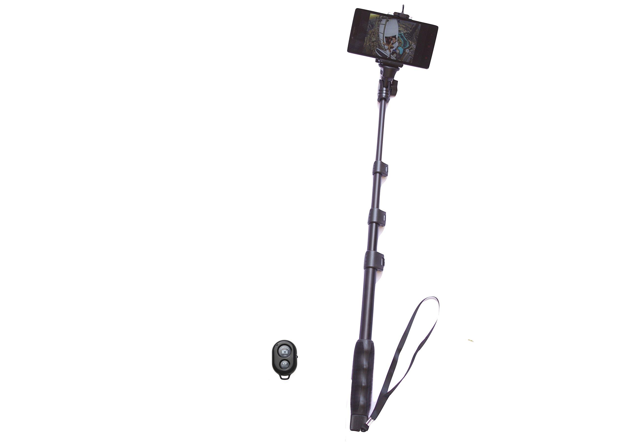 Yunteng GoPro Monopod Selfie Stick Pole 1.25m (Includes Mobile Phone Adapter)