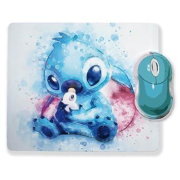 Tapis De Souris Aquarelle Stitch Chibi Et Kawaii Chamalow Shop