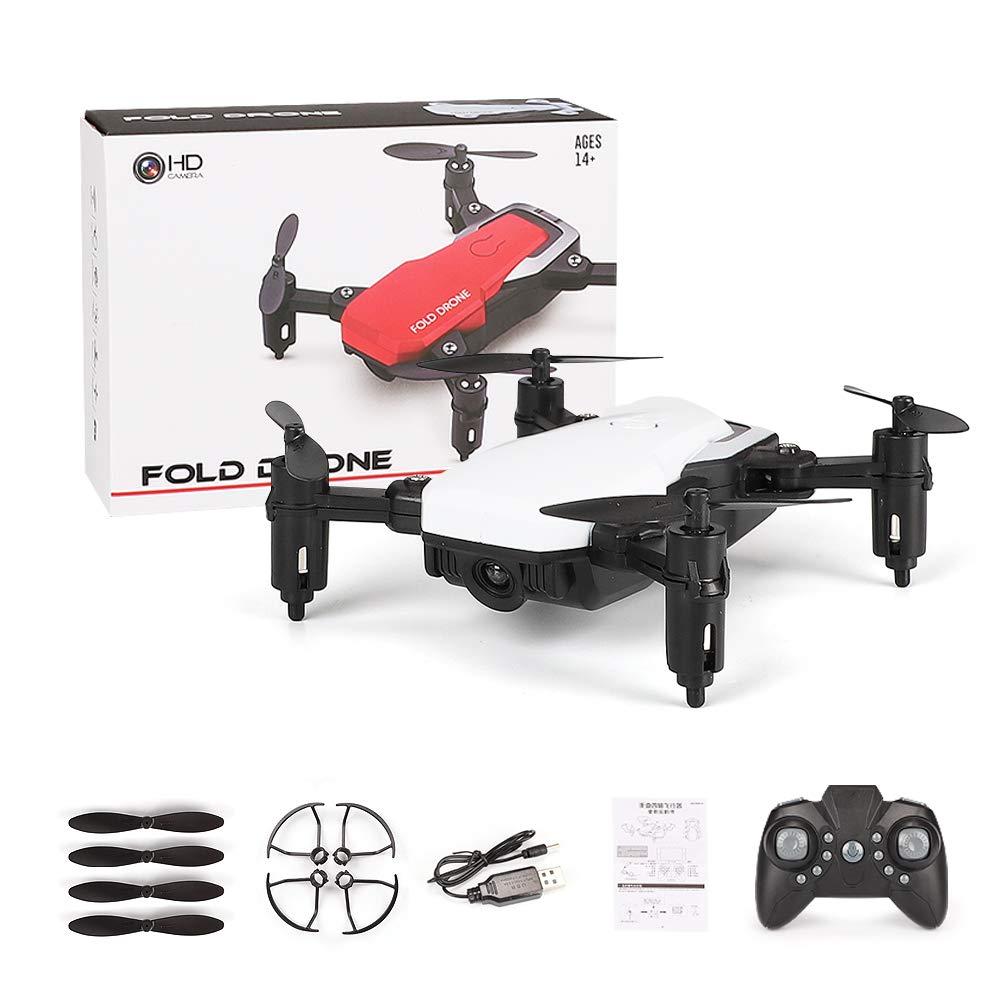 WANGKM Mini-RC-Helikopter-Drohne für Kinder, Quadcopter für Kinder mit Höhenlage, Headless-Modus, Start/Landung mit Einer Taste, 3D-Flip-Funktion und Faltbare Arme, gut für Anfänger