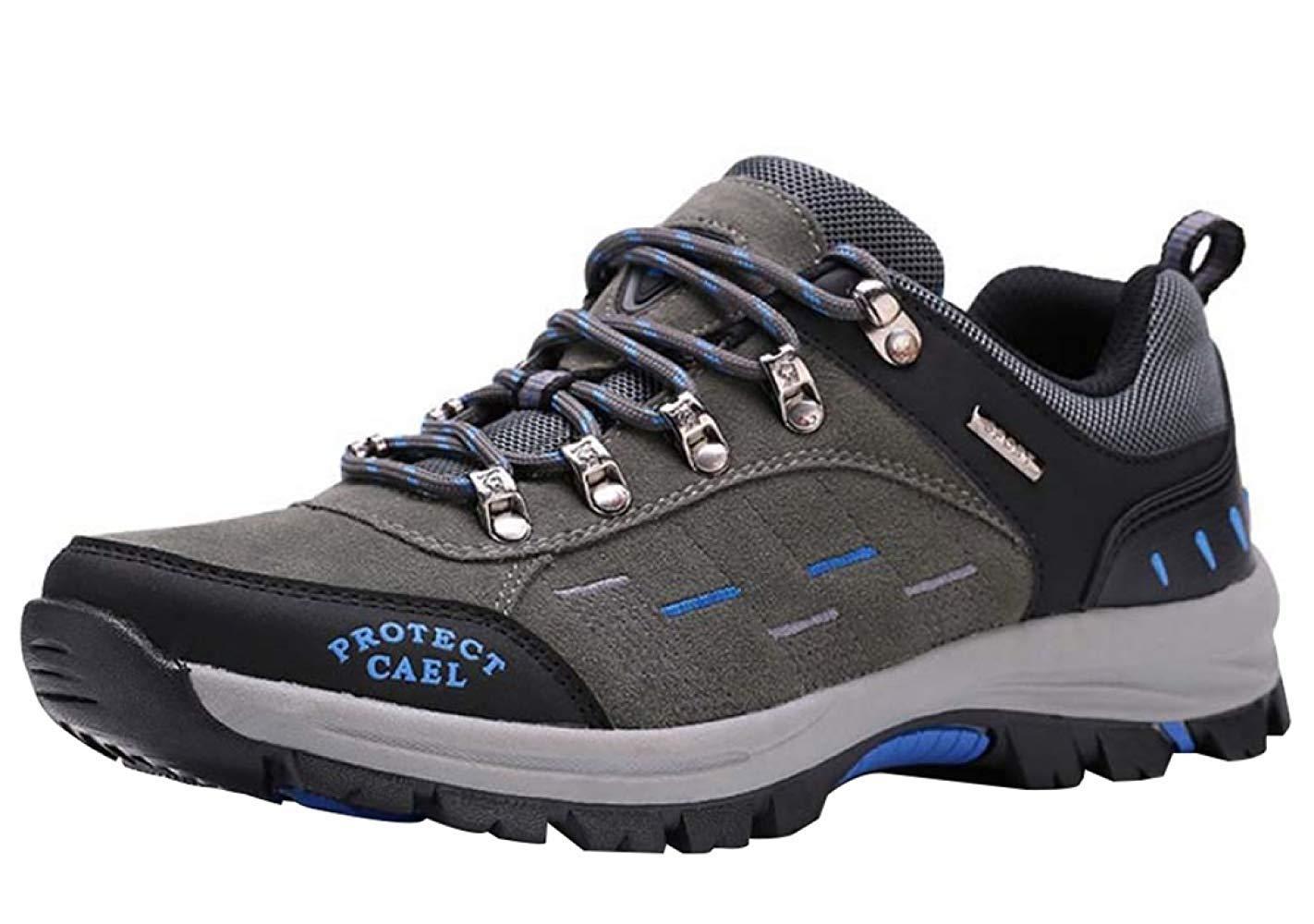 HhGold Männer Wanderschuhe Stiefel Leder Wanderschuhe Turnschuhe Für Outdoor Trekking Training Beiläufige Arbeit (Farbe : 11, Größe : 41EU)
