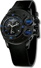 OffShore Limited OFF003A Reloj Fashion para Hombre (Negro, Hombre Estándar)