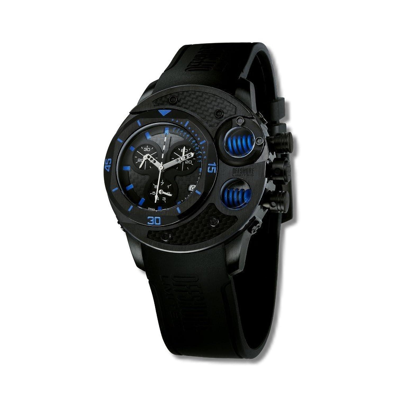 Offshore Limited Herren-Armbanduhr XL Commando Chronograph Silikon 003 A