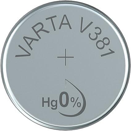 Varta Sr 55 Sw V 381 Varta 1 Bl Knopfzelle Silberoxid Elektronik