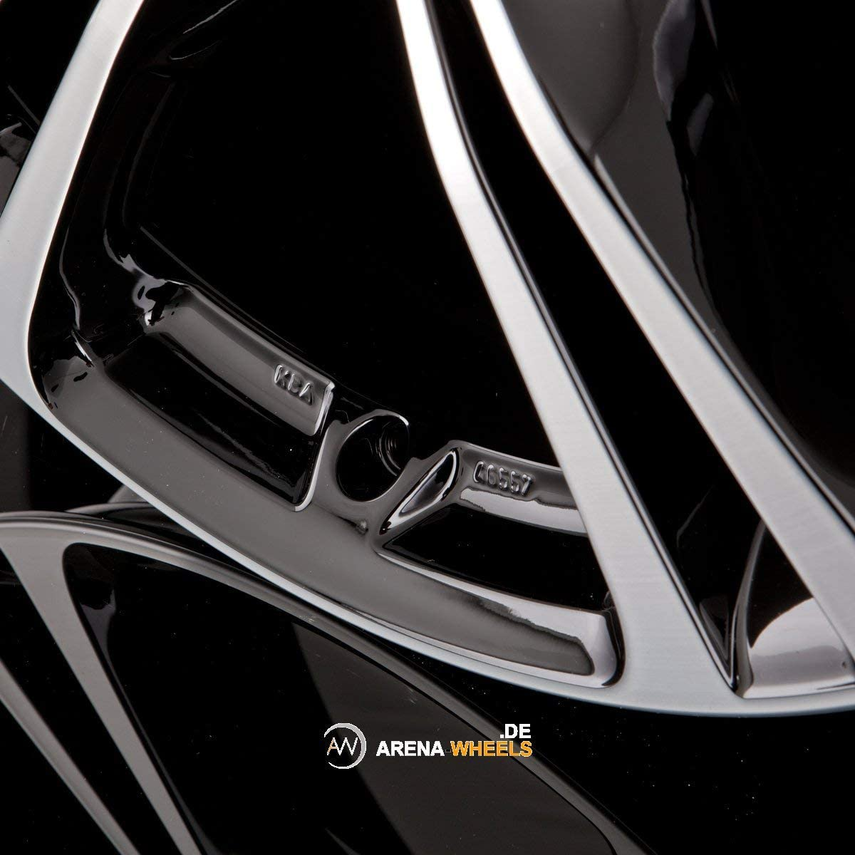 Alu felgen Borbet XL black polished 8x18 ET50 5.00x112 Hub Bore 72.60 mm