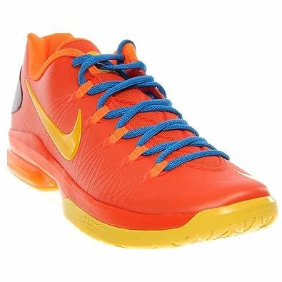 save off 78065 31ee0 Nike KD V Elite Mens Basketball Shoes 585386-800 Team Orange 9.5 M US