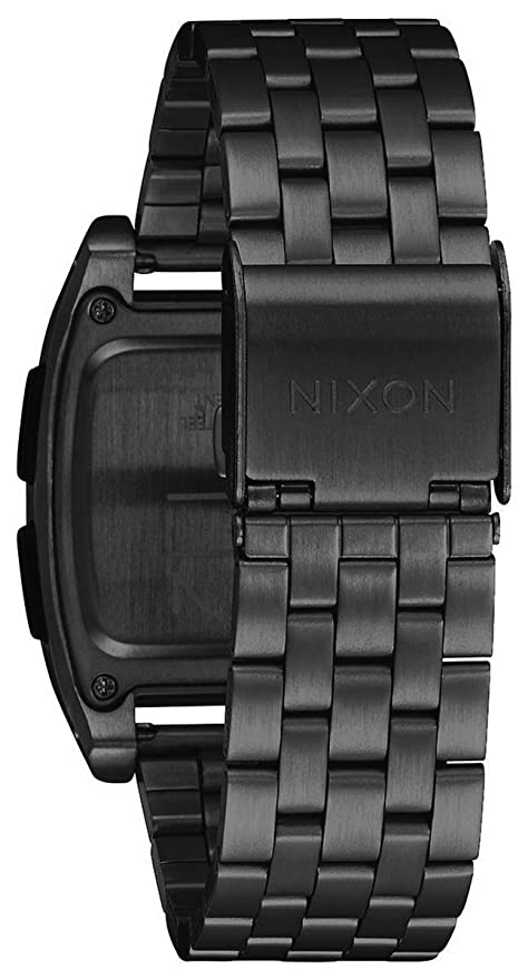 Nixon Base - Reloj (Reloj de Pulsera, Masculino, Acero Inoxidable, Negro, Acero Inoxidable, Negro): Amazon.es: Relojes