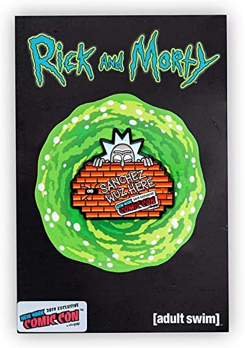 Rick and Morty Graffiti Rick Pin | Official Rick & Morty Exclusive Collector Pin: Amazon.es: Juguetes y juegos