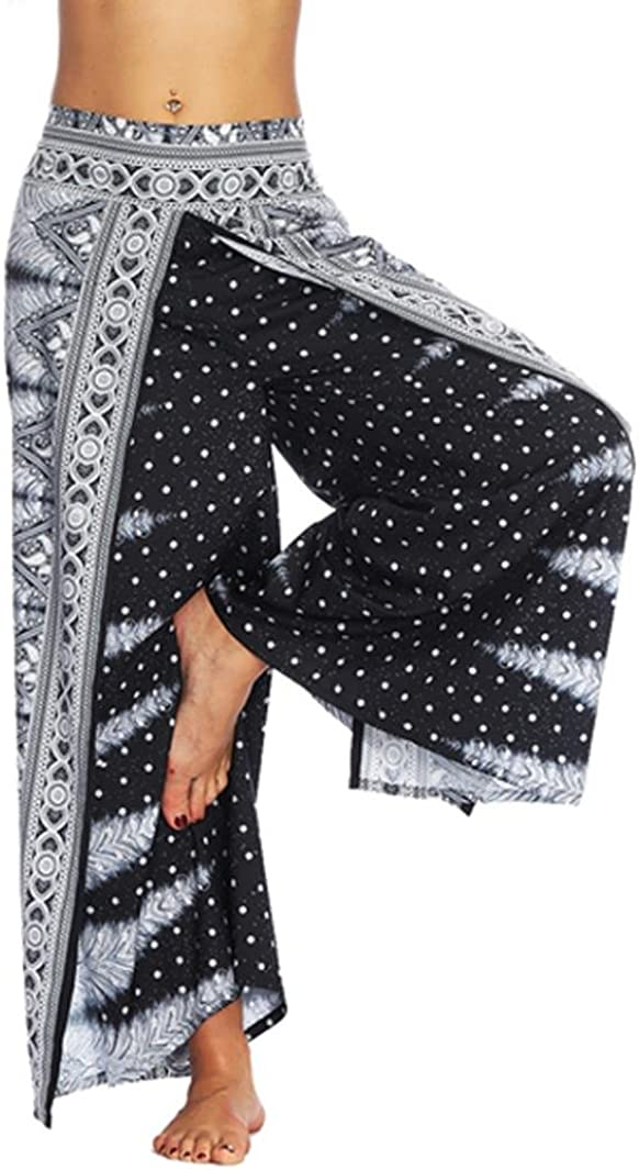 Warm Cotton boho baggy pants Winter yoga hippie loose women trousers