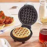Dash Mini Maker: The Mini Waffle Maker Machine for Individual Waffles, Paninis, Hash browns, & other on the go Breakfast, Lunch, or Snacks - White
