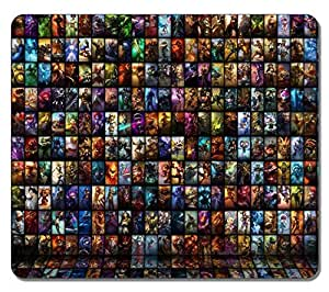Customized Fashion Style Textured Surface Water Resistent Mousepad Game 5 High Quality Non-Slip Gaming Mouse Pads by icecream design