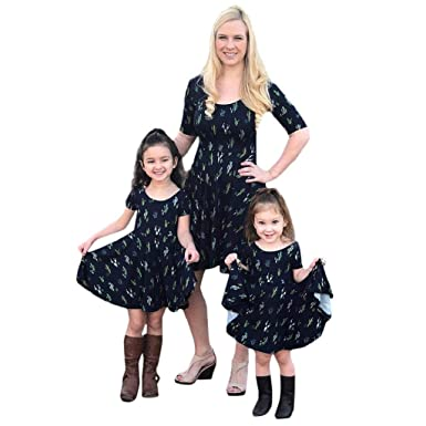 cda3bc5b36907e Image Unavailable. Image not available for. Color: Mommy and Me Boho Dresses  ...