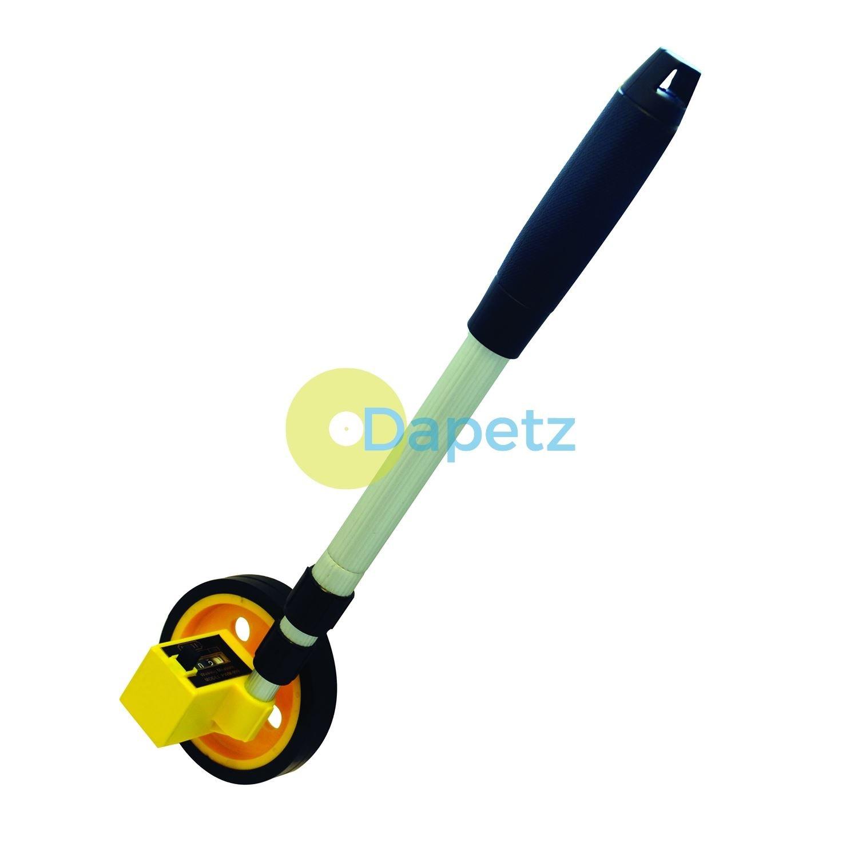 Dapetz Mini Surveyors Measuring Wheel Adjustable Handle 0-999M Metric by Dapetz
