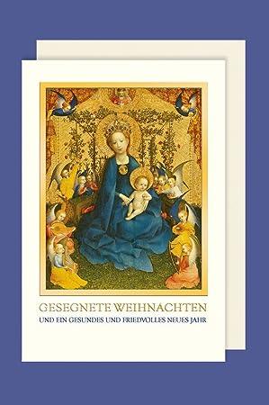 Weihnachtsgrüße Christkind.Avancarte Gmbh Christliche Weihnachten Karte Grußkarte Maria