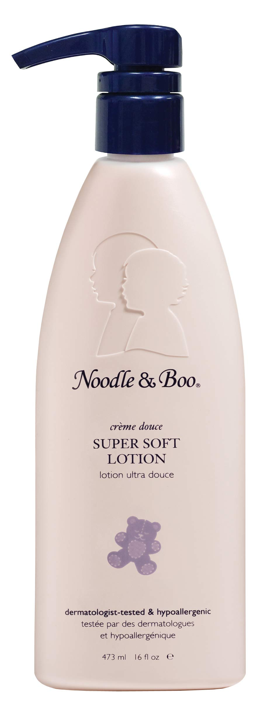 Noodle & Boo Super Soft Moisturizing Lotion for Daily Baby Care, Sensitive Skin and Hypoallergenic, 16 Oz