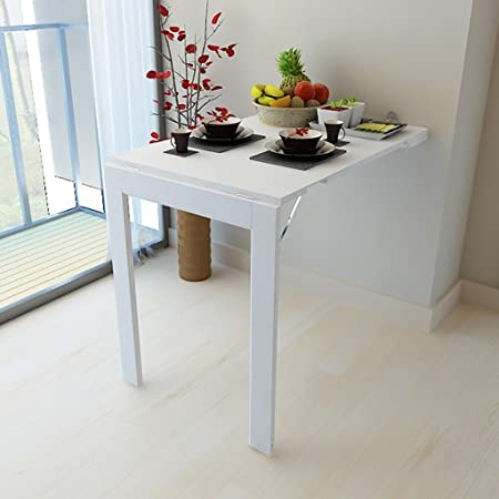 Appartement Pliante Murale Table de de XX Petit Table Mur OXn0wP8k
