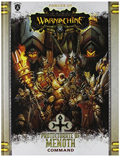 Forces of Warmachine: Protectorate of Menoth Command HC (Book) Miniature Game PIP1085