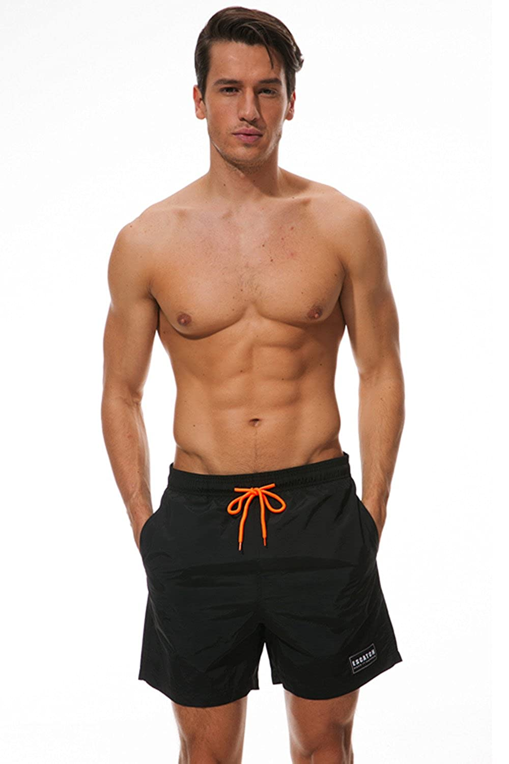 bd6118ddd2ae3 Mens Swim Trunks  This Bathing Suits For Men Get 6 Size  M L XL XXL 3XL Swim  Trunks For Men.Smooth surface