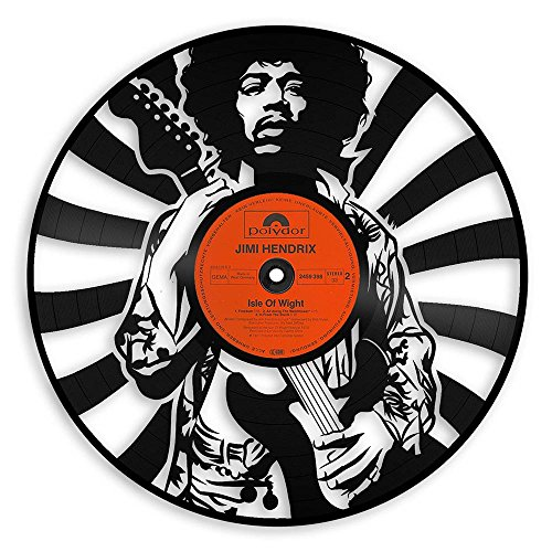 Jimi Hendrix Vinyl Wall Art Music Bands and Musicians Themed