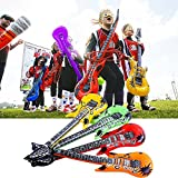 autumn-wind 4Pcs 55cm Inflatable Air Guitar Accessories For Party Kids Party Decor Toy