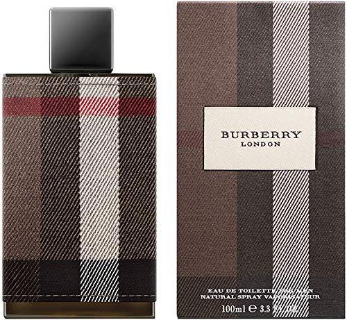 Burberry London Eau De Toilette for Men, 3.3 Fl Oz (Men Cologne Burberry Touch)