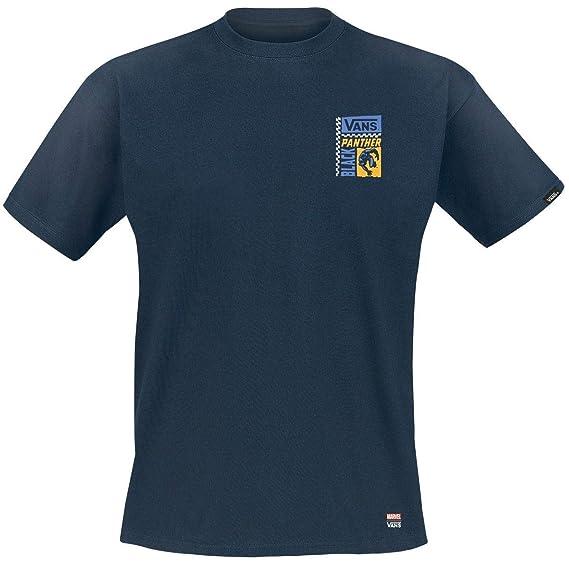 81d00fc8f20 Vans Marvel Black Panther T-Shirt Blue XL  Amazon.co.uk  Clothing