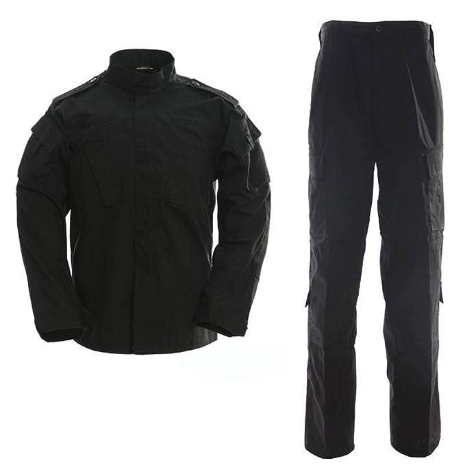 Amazon.com: Conjunto de uniforme de caza de camuflaje ...