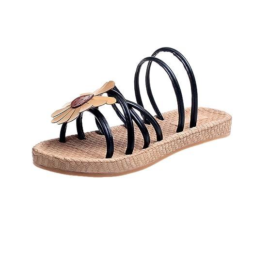 9d7944e156ff1c DIGOOD Bohemia Beach Sandals for Women