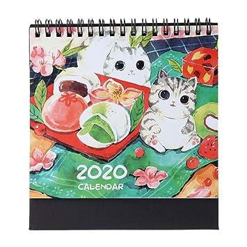 Calendarios de Pared Calendarios de Escritorio 2020 Modelo ...