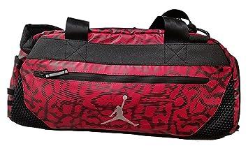 Amazon.com   Nike AIR JORDAN JUMPMAN 22 Duffel - Gym Red, One size ... 36749bf93b