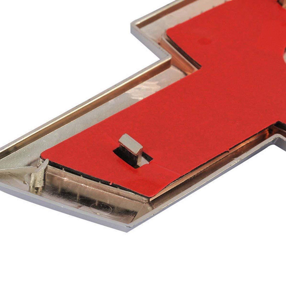 Corneliaa-FR Chrome Logo Signe 3D Auto Arri/ère De Voiture Embl/ème Embl/ème Badge Plaque signal/étique auto-adh/ésive pour Chevrolet Cruze Accessoires De Voiture