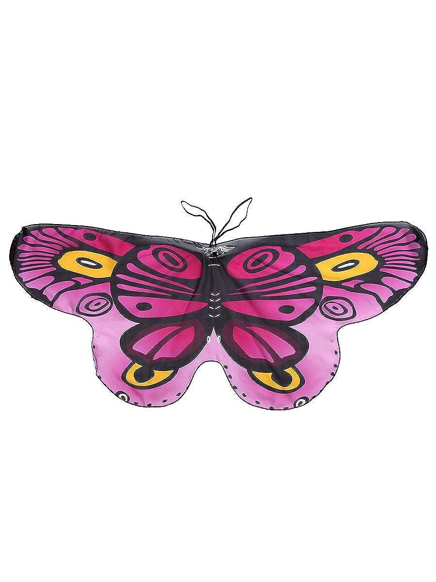 CISMARK Monarch Butterfly Wings Costume For Kids